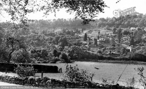 Photo of Limpley Stoke, From Winsley c.1955
