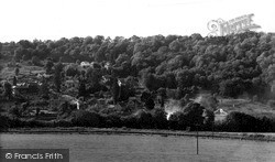 Limpley Stoke, From Winsley c.1955