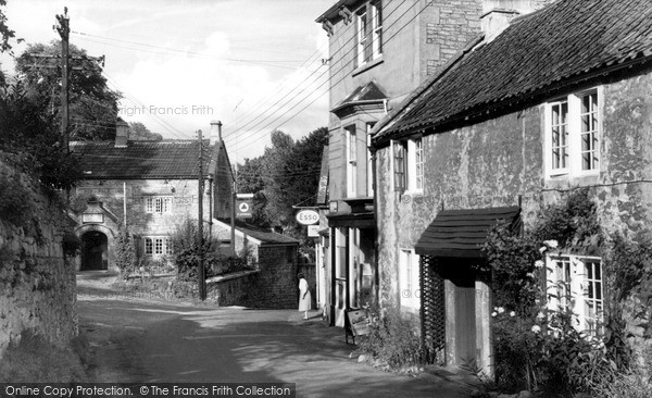 Photo of Limpley Stoke, Lower Village c.1955