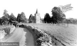 Limpley Stoke, St Mary's Church c.1955