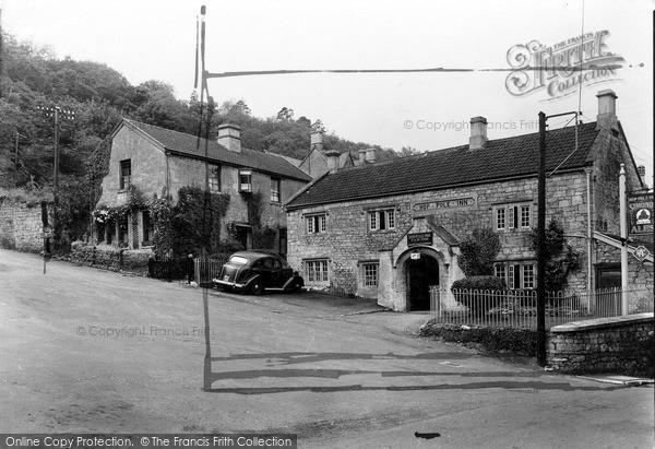 Photo of Limpley Stoke, The Hop Pole Inn c.1955