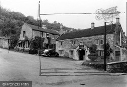 Limpley Stoke, The Hop Pole Inn c.1955