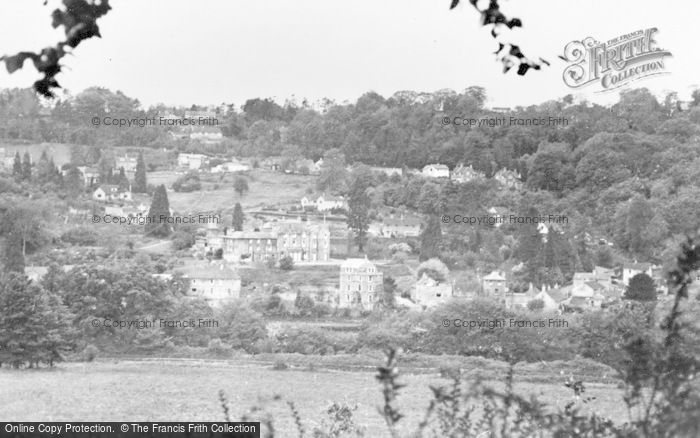 Photo of Limpley Stoke, The Valley And Village c.1955