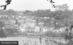Limpley Stoke, The Valley And Village c.1955