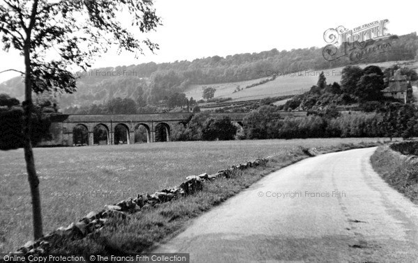 Photo of Limpley Stoke, The Viaduct c.1955