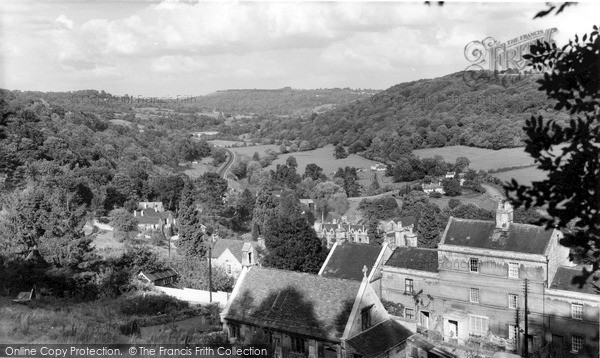 Photo of Limpley Stoke, View From The Bath Road c.1955