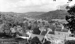 Limpley Stoke, View From The Bath Road c.1955