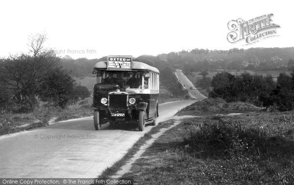Photo of Limpsfield, Bus 1929