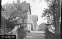 Limpsfield, Caxton Convalescent Home From The Drive 1947