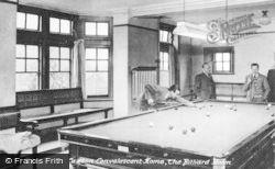 Limpsfield, Caxton Convalescent Home, The Billiard Room c.1950