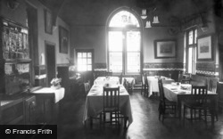 Limpsfield, Caxton Convalescent Home, The Dining Room c.1947