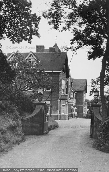 Photo of Limpsfield Chart, Caxton Home c.1955