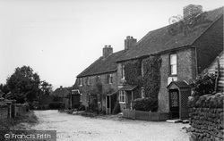 Cottages In The Village c.1955, Limpsfield Chart