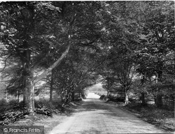 Crockham Hill Road 1929, Limpsfield Chart