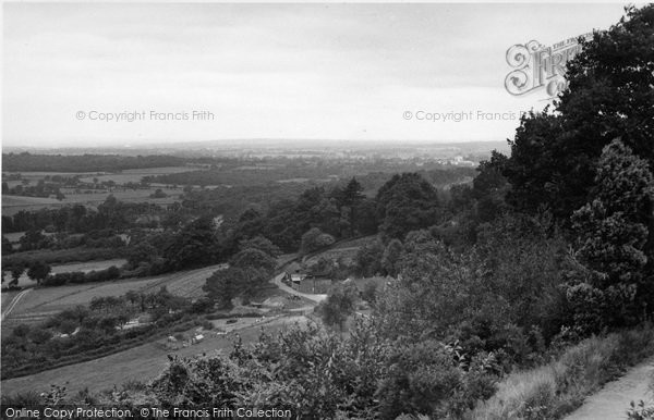 Photo of Limpsfield Chart, General View c.1955