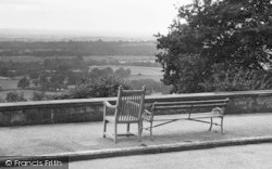 Seats At Henry Radcliffe's Home c.1955, Limpsfield Chart