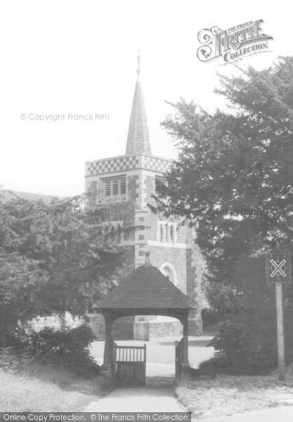 Photo of Limpsfield Chart, St Andrew's Church 1961