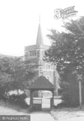 St Andrew's Church 1961, Limpsfield Chart