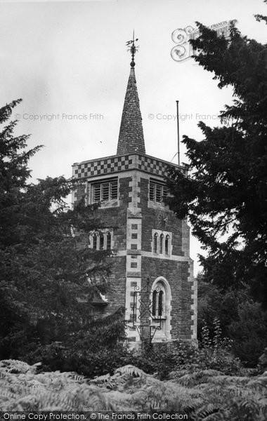 Photo of Limpsfield Chart, St Andrew's Church c.1955