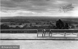 View From Henry Radcliffe's Home c.1955, Limpsfield Chart