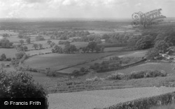 View Of Surrey Weald 1961, Limpsfield Chart