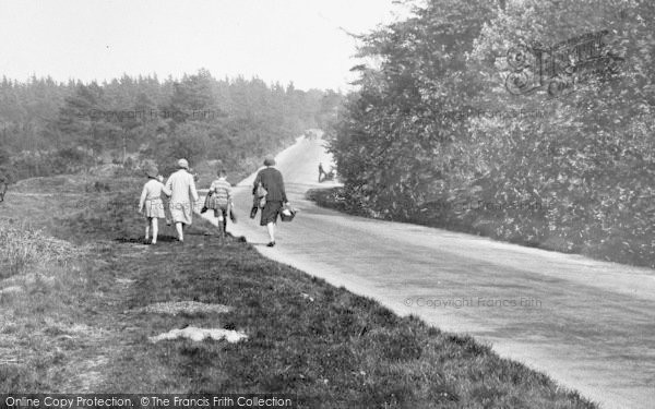 Photo of Limpsfield Chart, Walking By The Common 1929