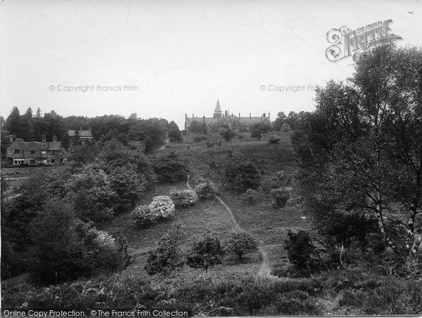Photo of Limpsfield, Common And St Michael's 1924