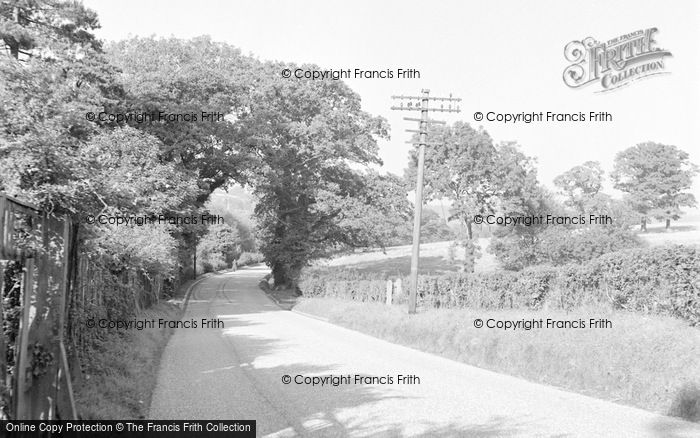 Photo of Limpsfield, Croydon Road 1957