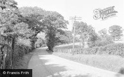 Limpsfield, Croydon Road 1957