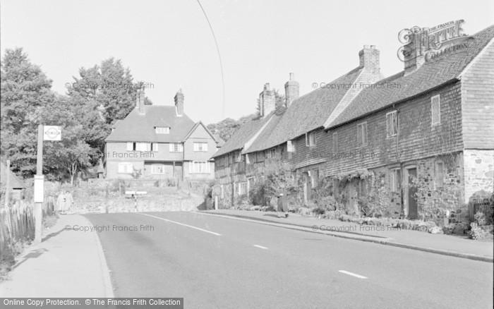 Photo of Limpsfield, Detillens Corner 1957