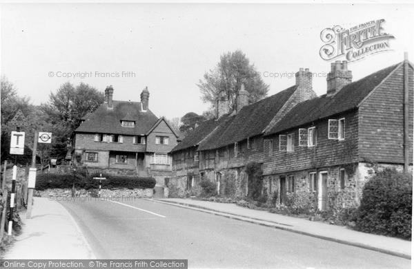 Photo of Limpsfield, Detillens Lane c.1950