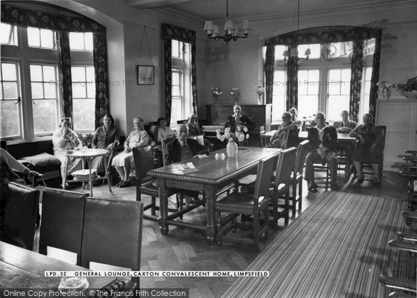 Photo of Limpsfield, General Lounge, Caxton Convalescent Home 1965