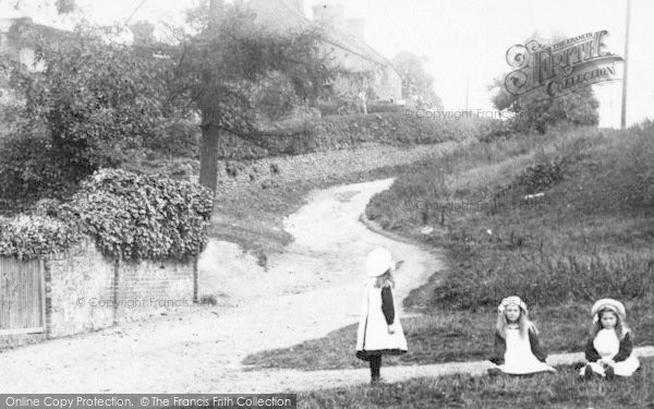 Photo of Limpsfield, Girls At Pebble Hill 1906