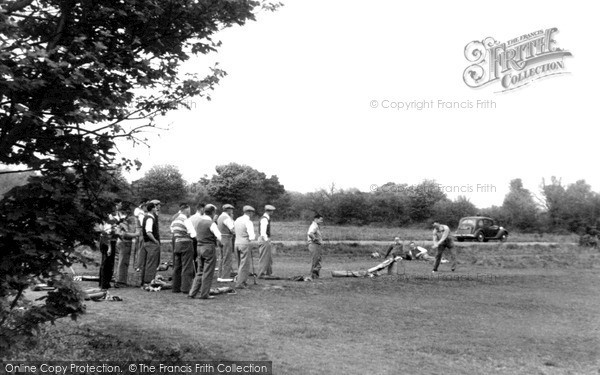 Photo of Limpsfield, Golf On The Common c.1955