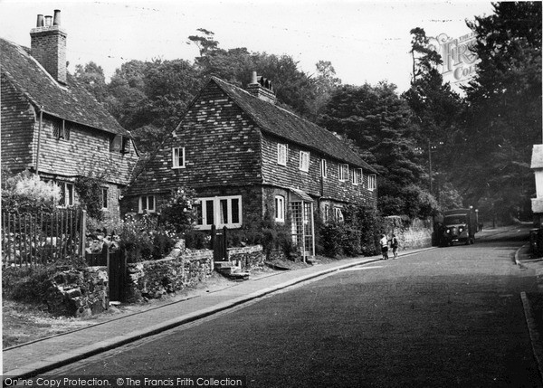 Photo of Limpsfield, High Street 1949