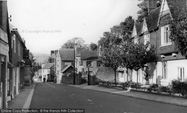 Photo of Limpsfield, High Street 1957