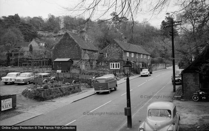 Photo of Limpsfield, High Street 1967