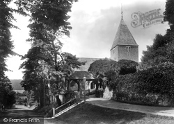 St Peter's Church 1906, Limpsfield