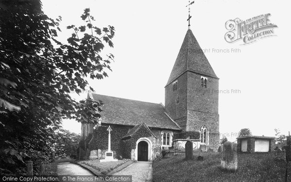 Photo of Limpsfield, St Peter's Church 1924