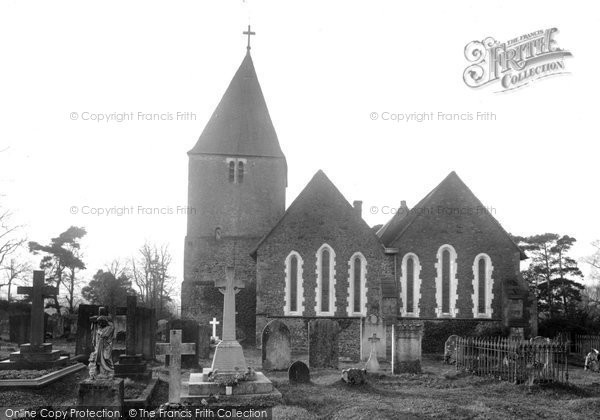 Photo of Limpsfield, St Peter's Church 1927