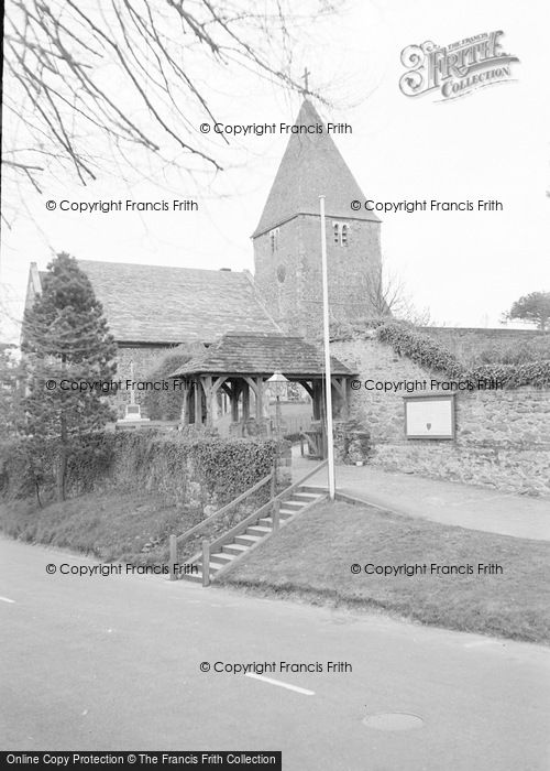 Photo of Limpsfield, St Peter's Church 1967