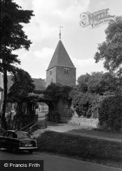 Limpsfield, St Peter's Church c.1954