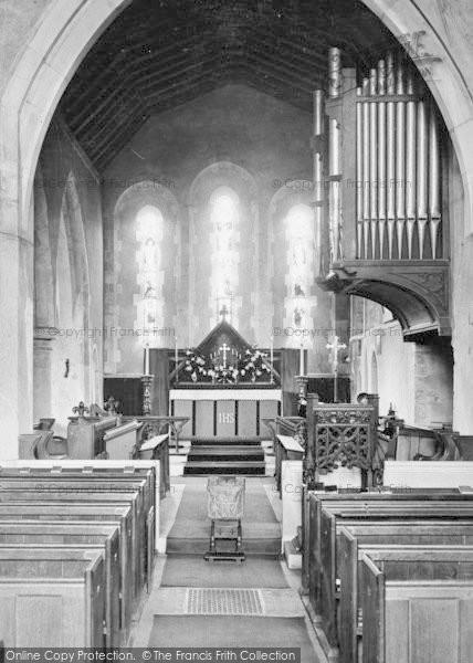 Photo of Limpsfield, St Peter's Church, Chancel 1927