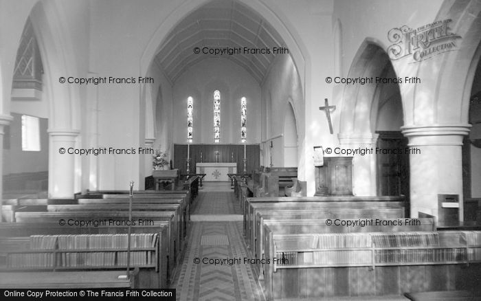 Photo of Limpsfield, St Peter's Church, Interior 1967