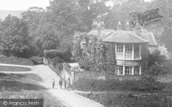 Limpsfield, Taking A Walk 1925