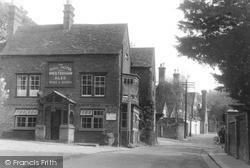The Bull Hotel c.1955, Limpsfield