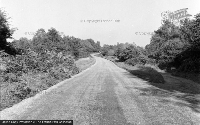 Photo of Limpsfield, The Common 1957