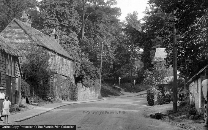 Photo of Limpsfield, The Village 1924