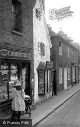 Limpsfield, The Village Shop 1924