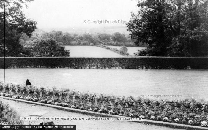 Photo of Limpsfield, View From Caxton Convalescent Home c.1965